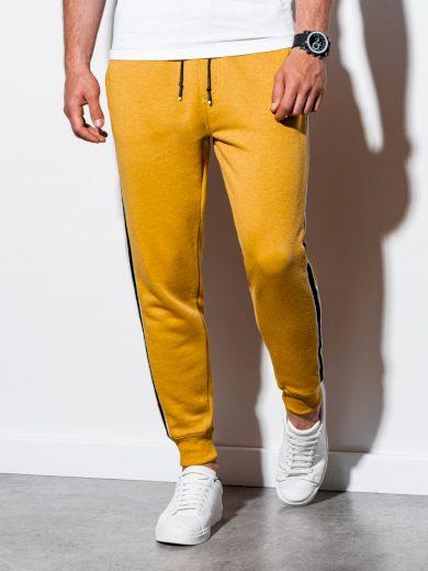 Pánské tepláky Ama žlutá