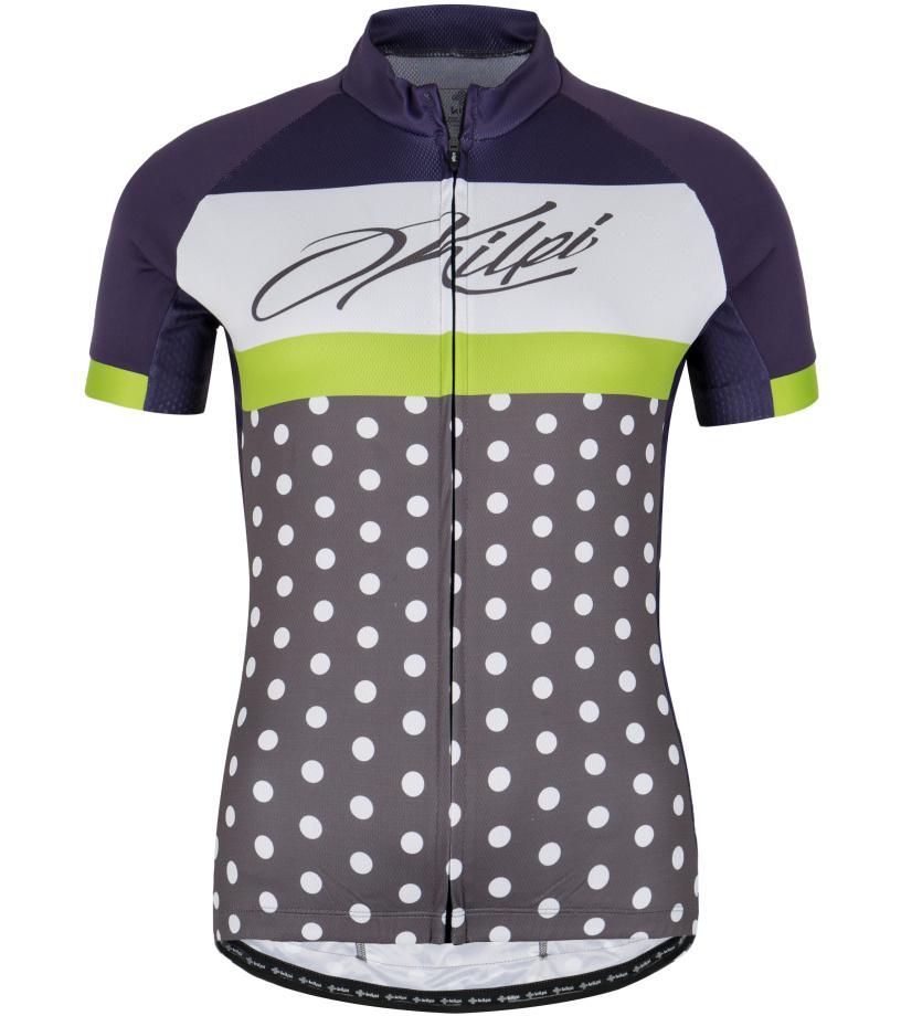 KILPI Dámský cyklistický dres DOTTY-W GL0010KIVLT Fialová 40
