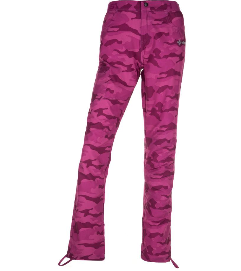 KILPI Dámské outdoor kalhoty MIMICRI-W IL0329KIPNK Růžová 42