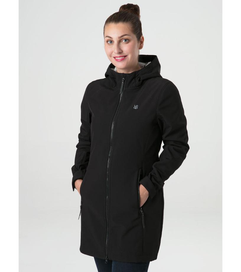 LOAP LECIKA Dámský softshellový kabát SFW2117V24T Tap Shoe / Gray XS