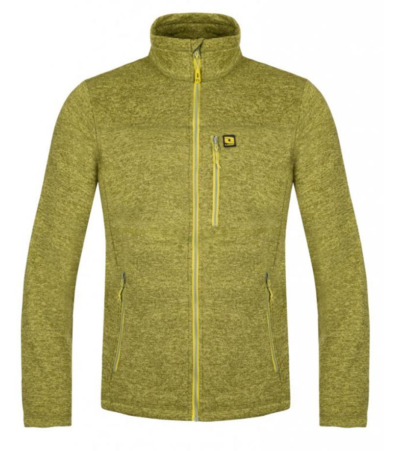 LOAP GRAHAM Pánský sportovní svetr OLM1905P43PX zelená XL