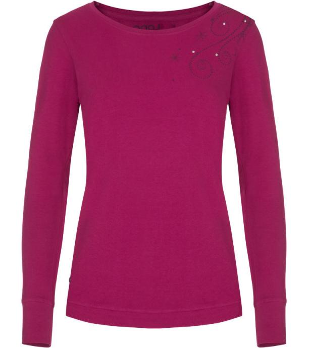 LOAP ANIE Dámské triko dlouhý rukáv CLW19143H20H růžová XS