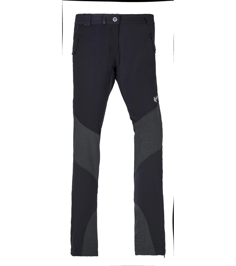 KILPI Dámské outdoorové kalhoty NUUK-W FL0040KIBLK Černá 44