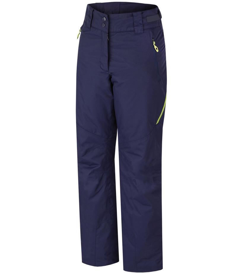 HANNAH Puro Dámské lyžařské kalhoty 216HH0066HP04 Peacoat (green) 38