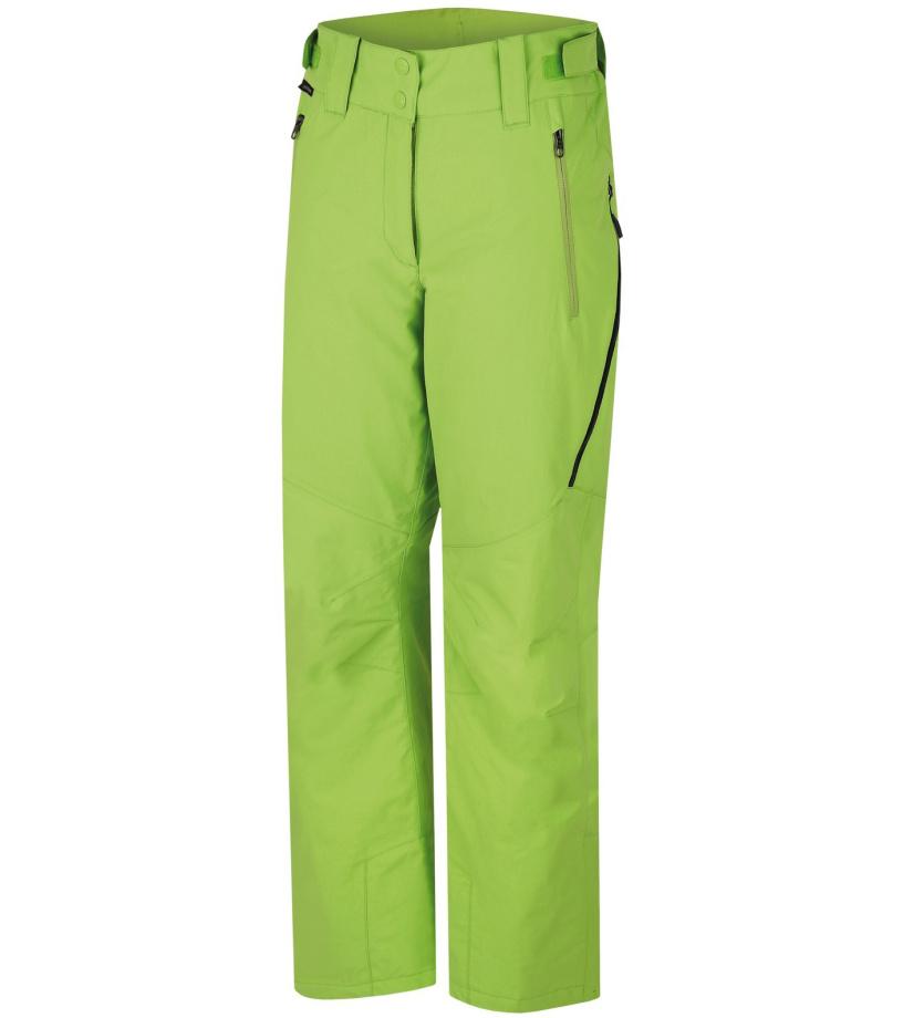HANNAH Puro Dámské lyžařské kalhoty 216HH0066HP06 Lime green 38