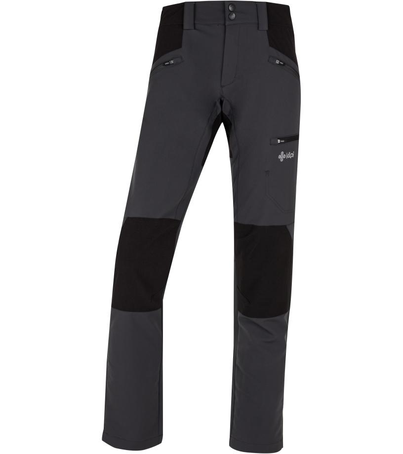 KILPI Dámské outdoorové kalhoty TIDE-W HL0107KIDGY Tmavě šedá 36