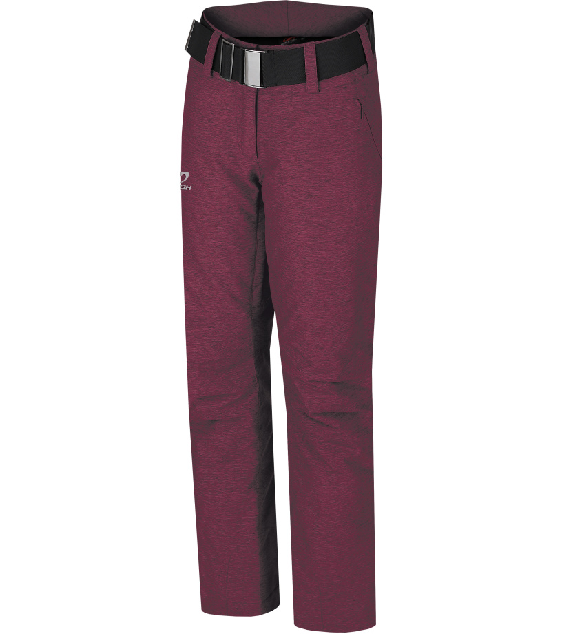 HANNAH Darsy Dámské lyžařské kalhoty 217HH0027HP02 Berry mel 38