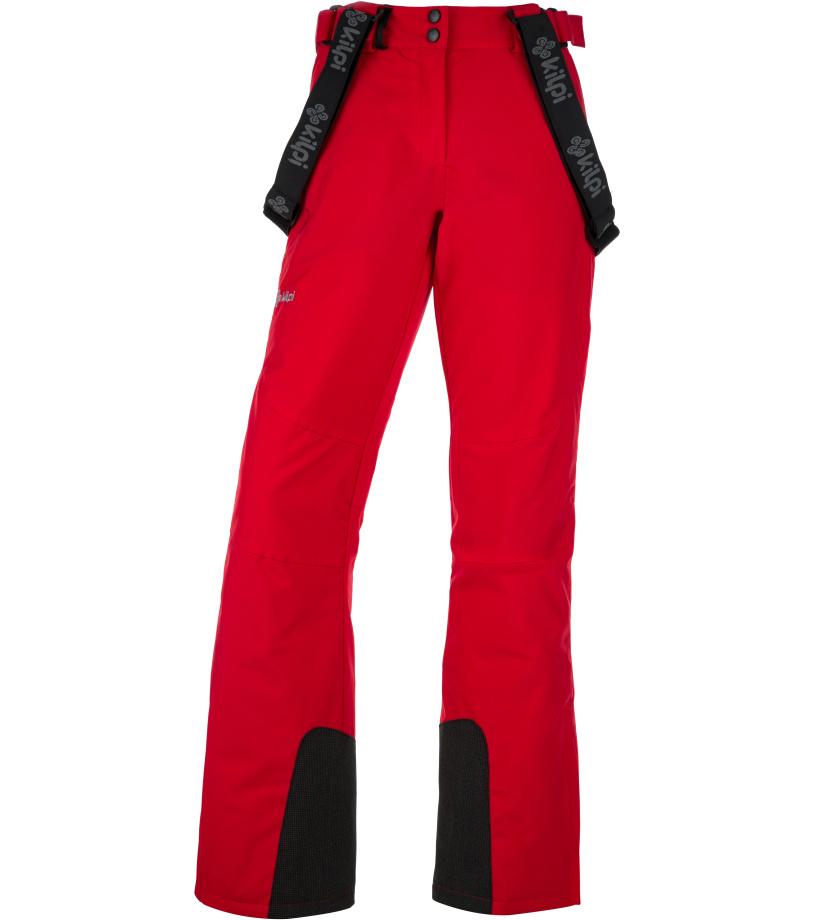 KILPI Dámské lyžařské kalhoty ELARE-W JL0011KIRED Červená 36