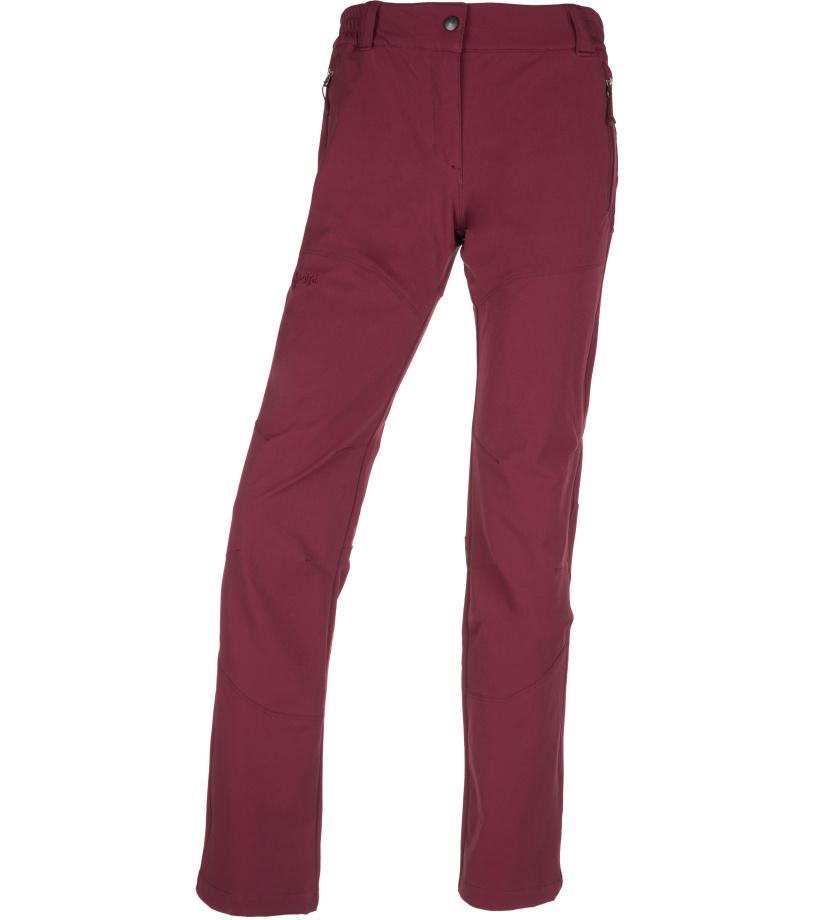 KILPI Dámské outdoor kalhoty LAGO-W JL0145KIDRD Červená 34