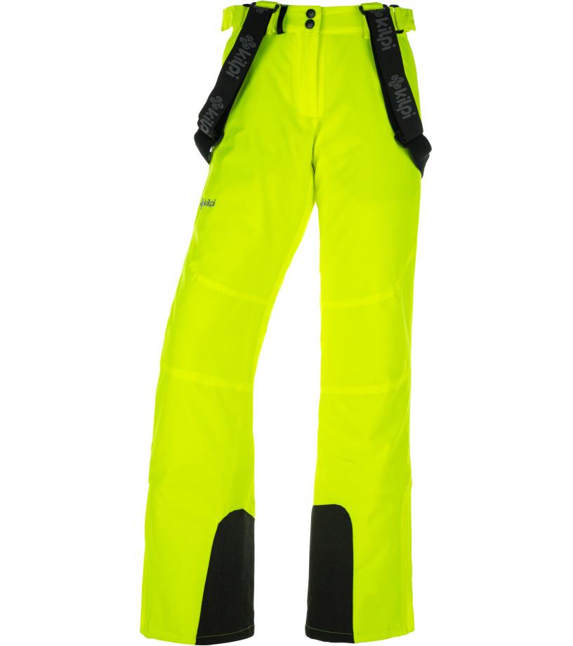 KILPI Dámské lyžařské kalhoty ELARE-W JL0011KIYEL Žlutá 36