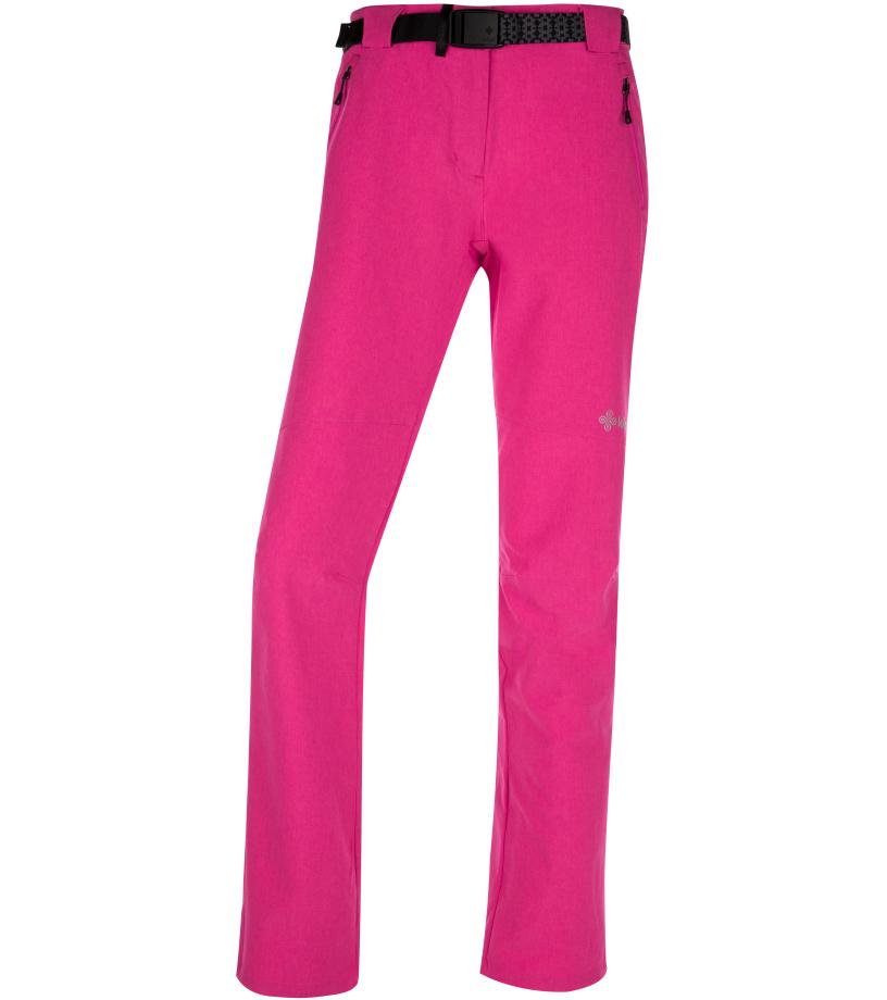 KILPI Dámské outdoor kalhoty WANAKA-W IL0026KIPNK Růžová 36