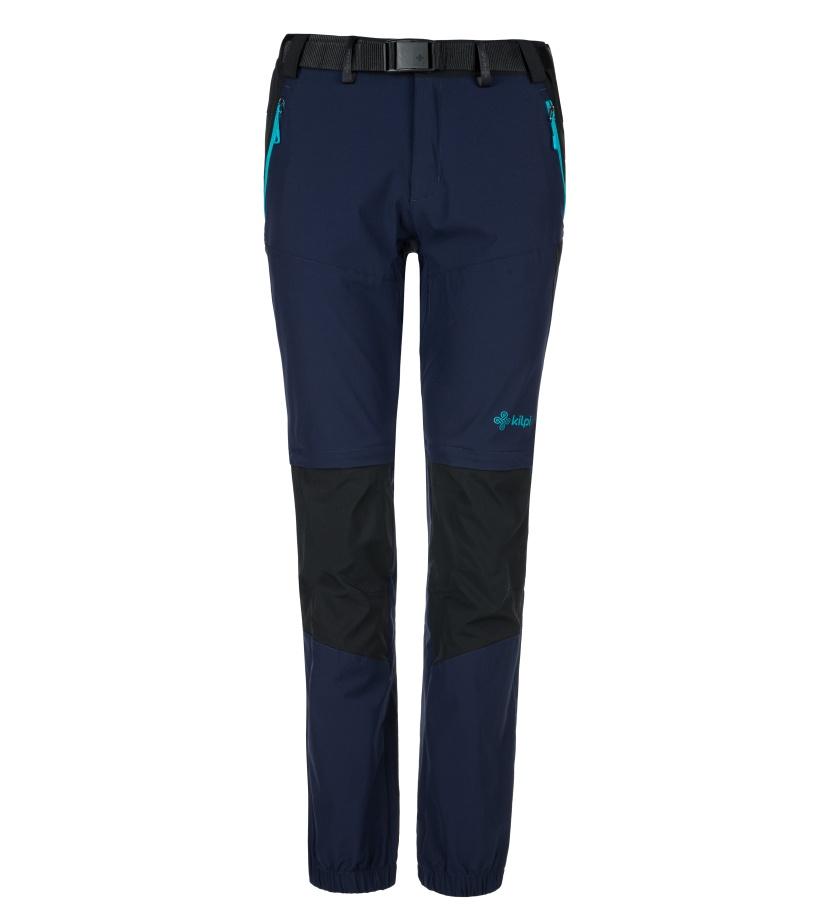KILPI Dámské outdoorové kalhoty HOSIO-W KL0071KIDBL Tmavě modrá 42S