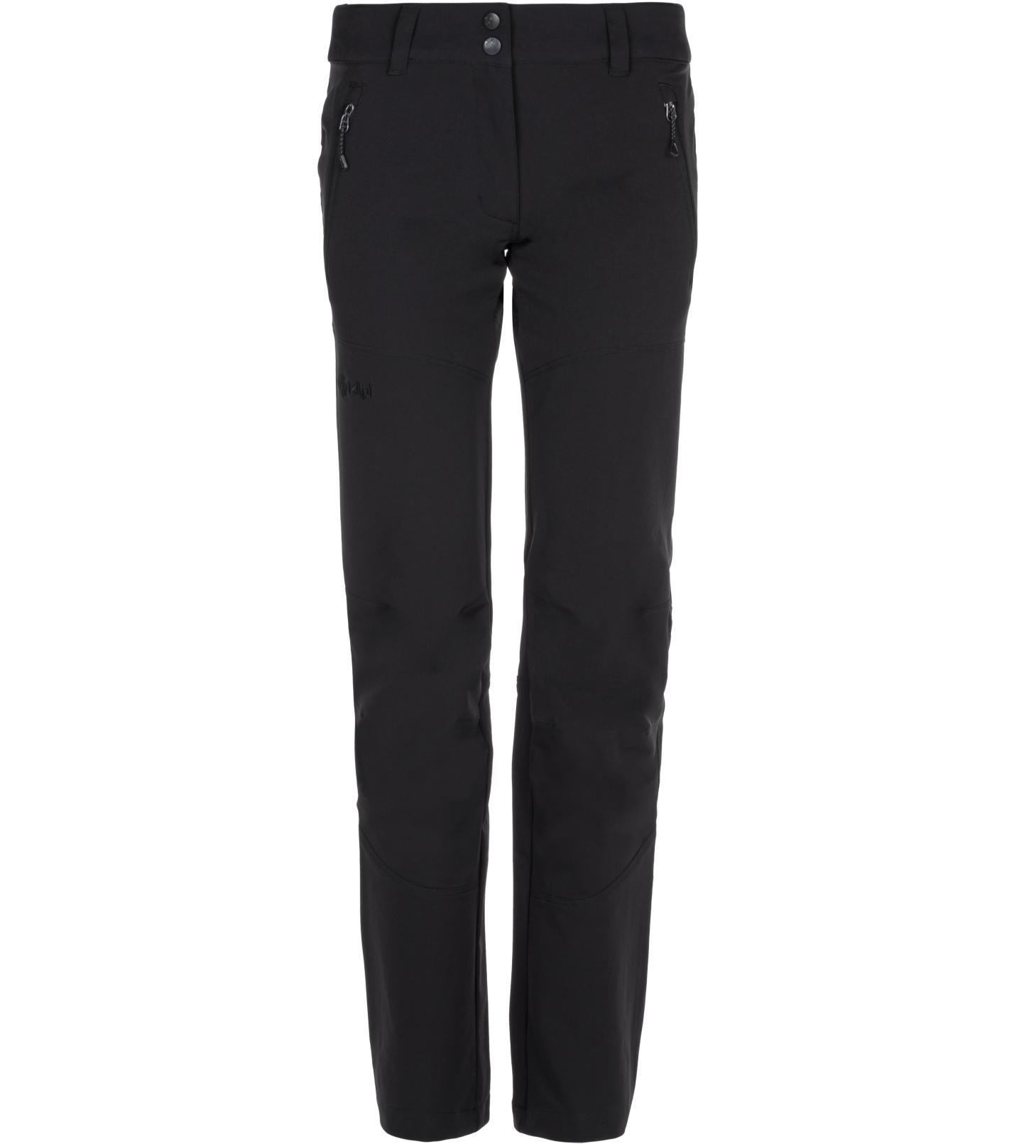 KILPI Dámské outdoorové kalhoty LAGO-W LL0090KIBLK Černá 36