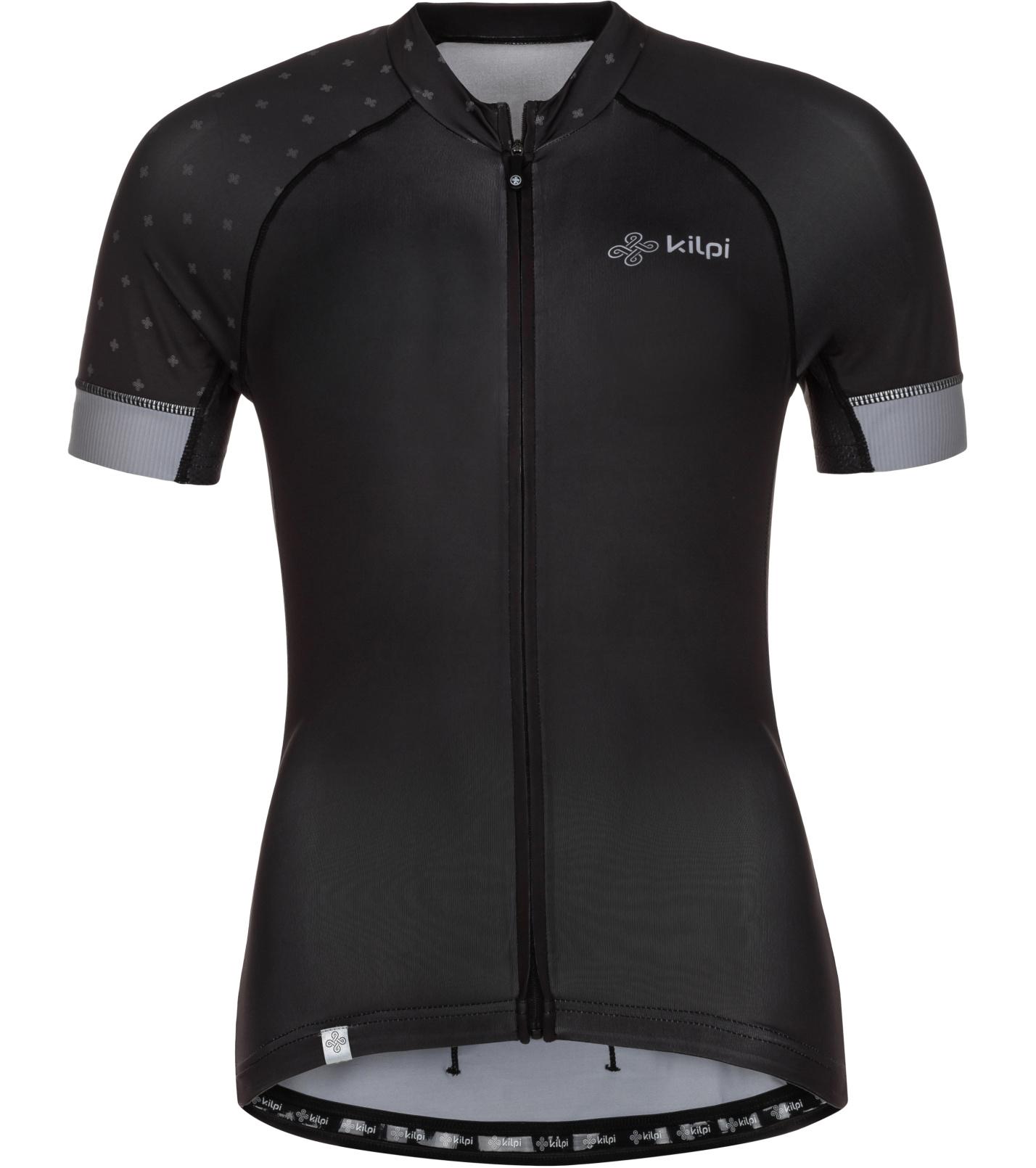 KILPI Dámský cyklistický dres WILD-W ML0042KIBLK Černá 34