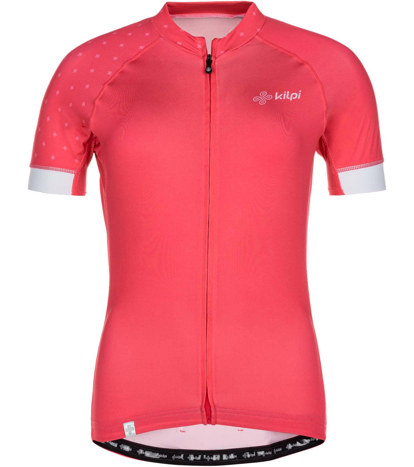 KILPI Dámský cyklistický dres WILD-W ML0042KIPNK Růžová 40