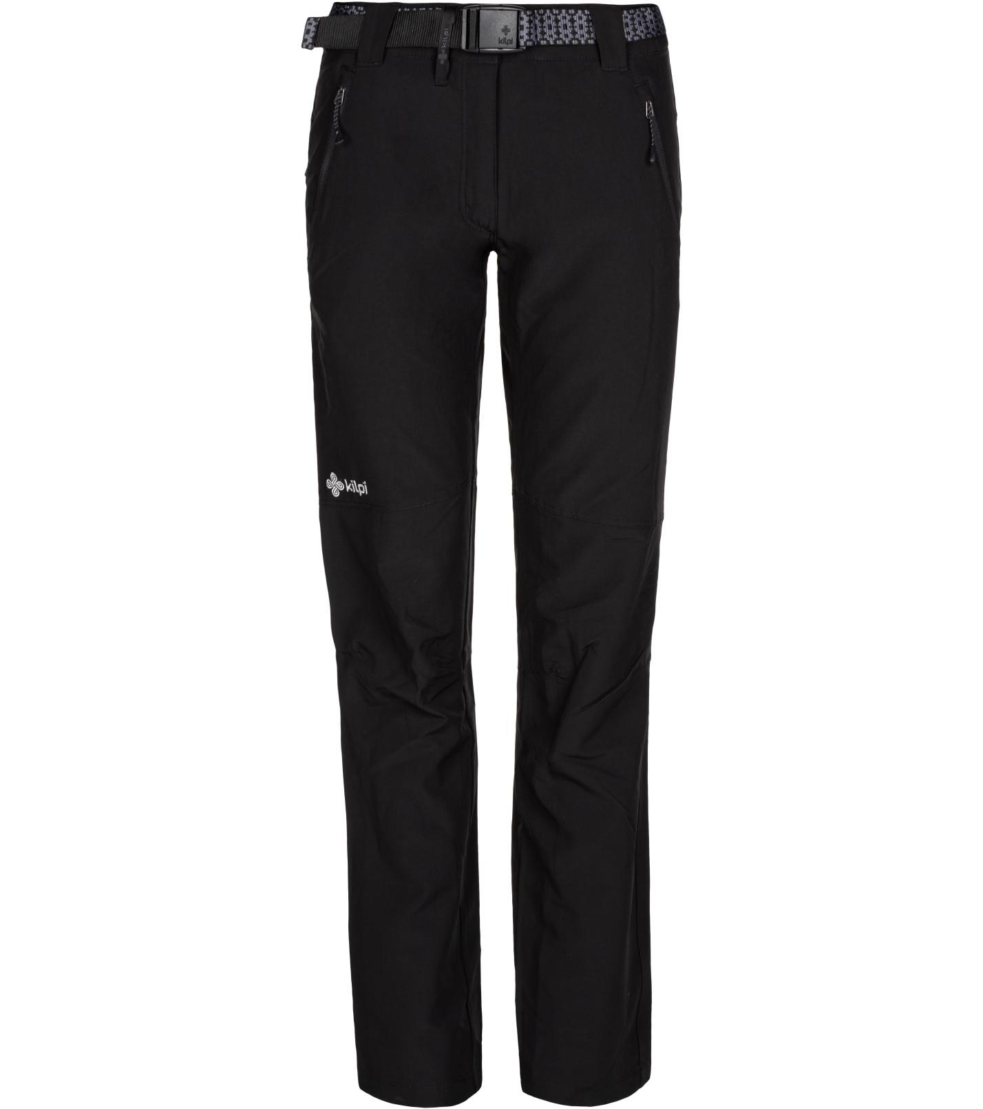 KILPI Dámské outdoorové kalhoty WANAKA-W ML0026KIBLK Černá 40