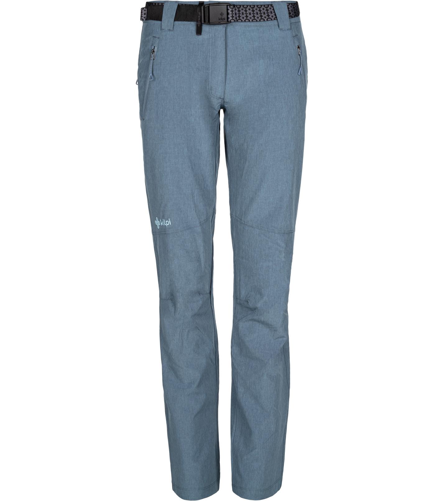 KILPI Dámské outdoorové kalhoty WANAKA-W ML0026KIBLU Modrá 34