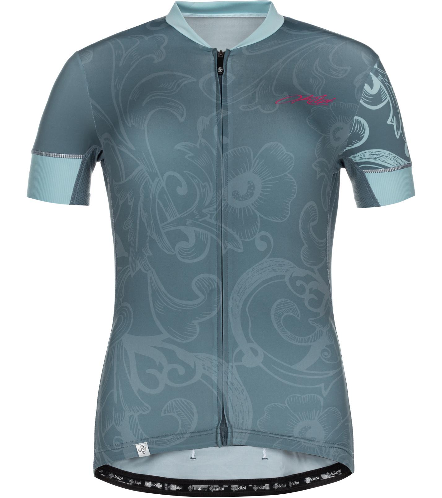 KILPI Dámský cyklistický dres ORETI-W ML0041KIBLU Modrá 34