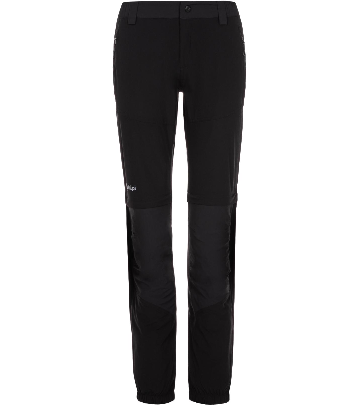 KILPI Dámské outdoorové kalhoty HOSIO-W ML0022KIBLK Černá 38