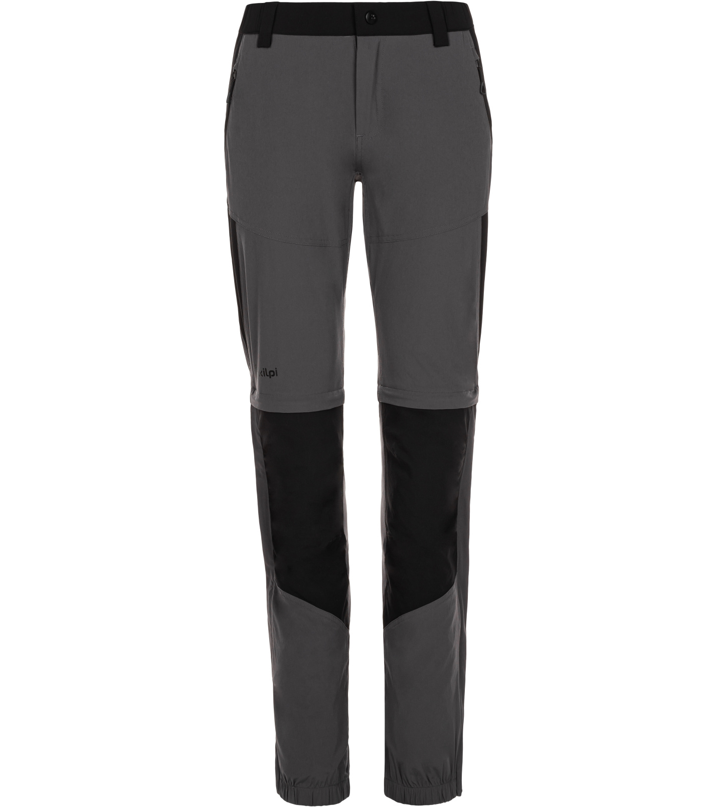 KILPI Dámské outdoorové kalhoty HOSIO-W ML0022KIDGY Tmavě šedá 36