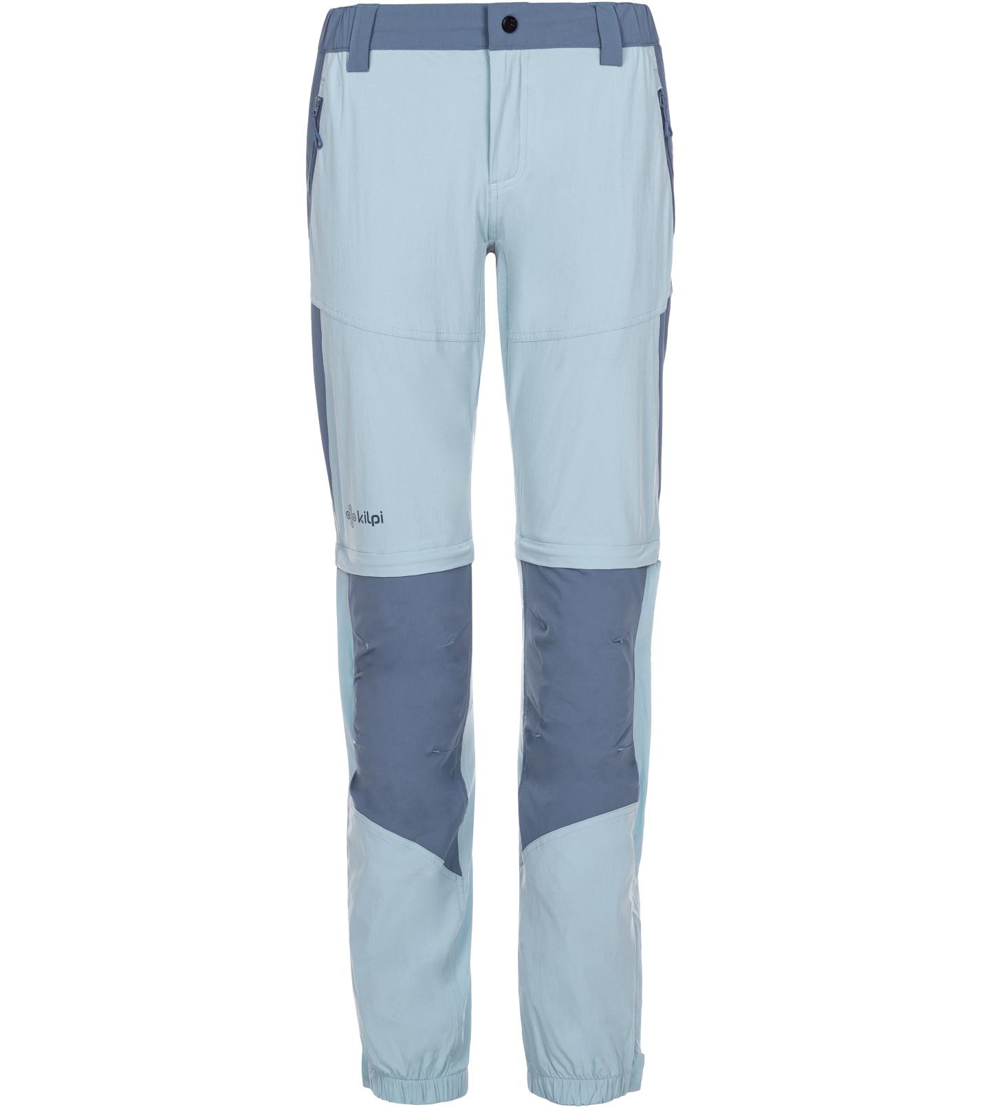 KILPI Dámské outdoorové kalhoty HOSIO-W ML0022KILBL Bílo/Modrá 34