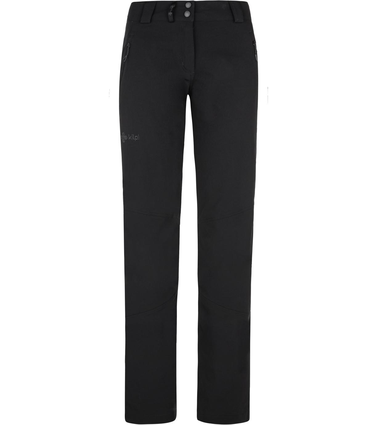 KILPI Dámské outdoorové kalhoty LAGO-W NL0012KIBLK Černá 34