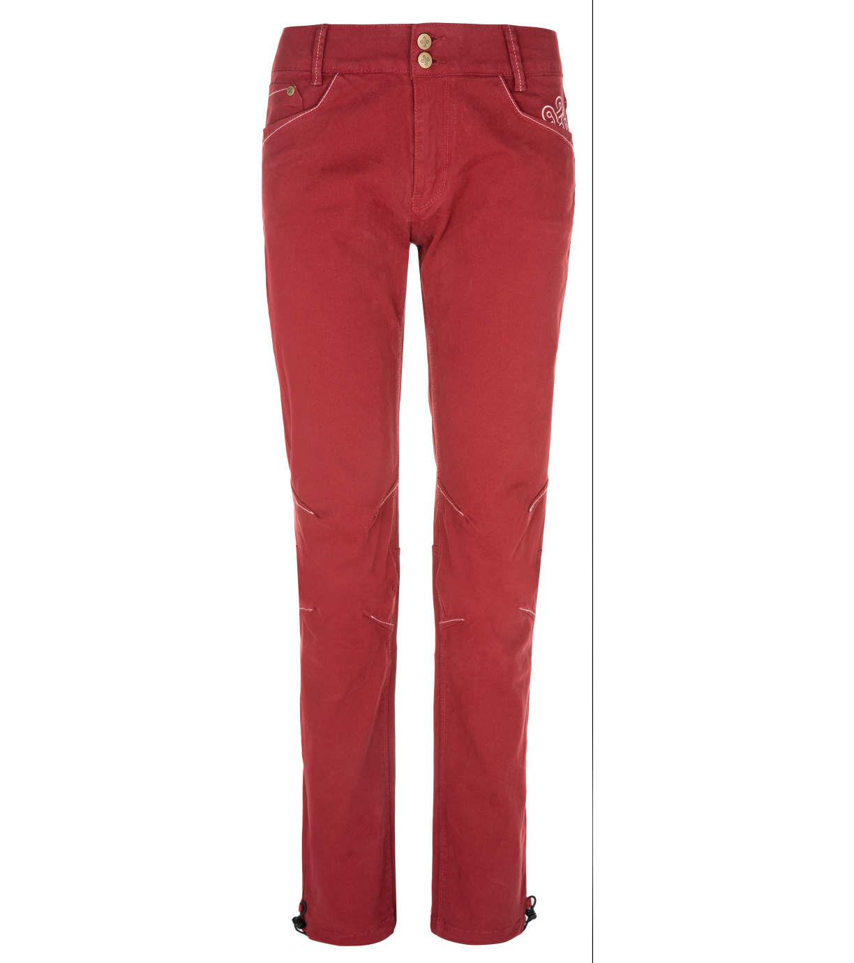 KILPI Dámské outdoorové kalhoty DANNY-W NL0075KIDRD Červená 34