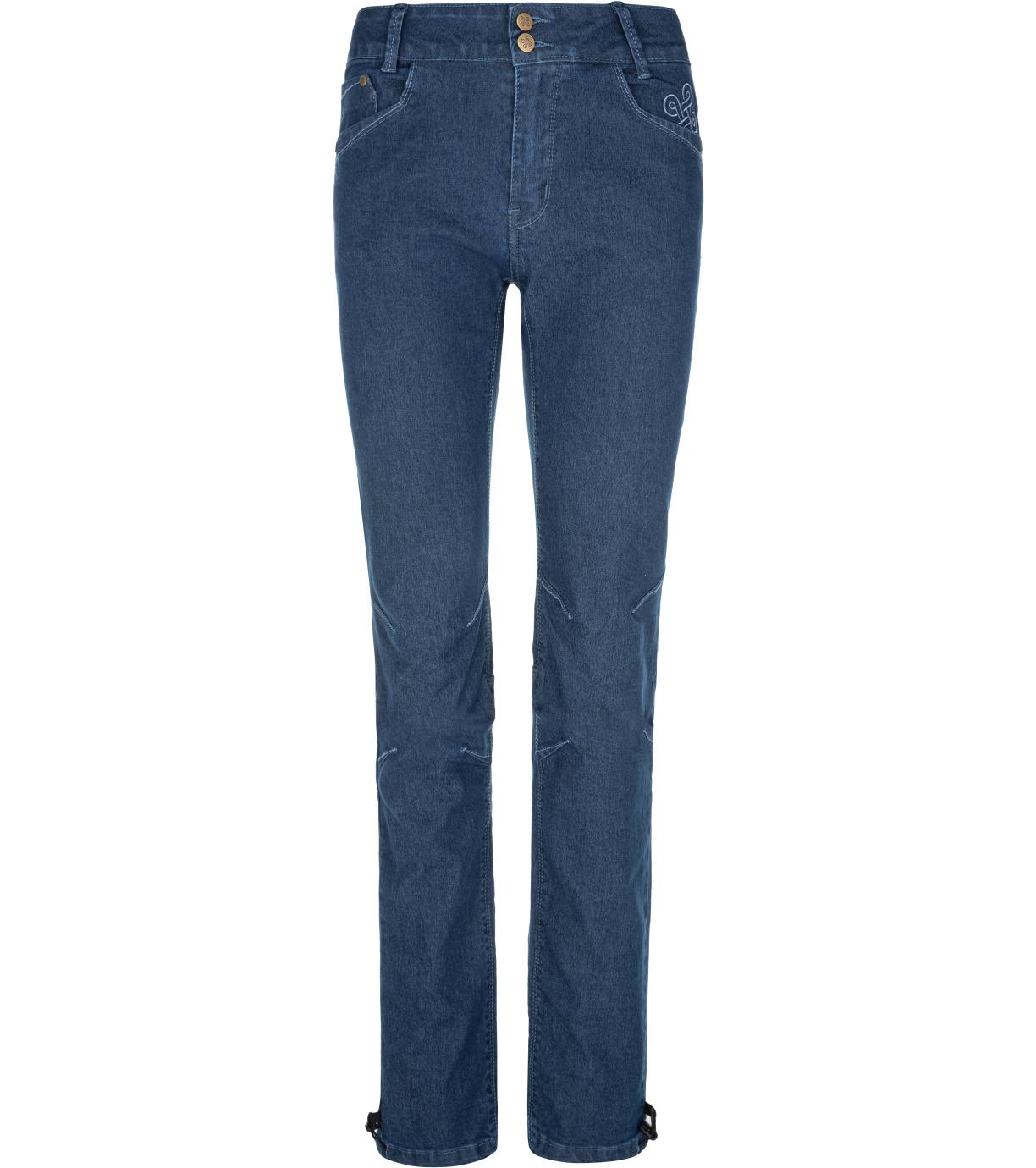 KILPI Dámské outdoorové kalhoty DANNY-W NL0075KIDBL Tmavě modrá 34