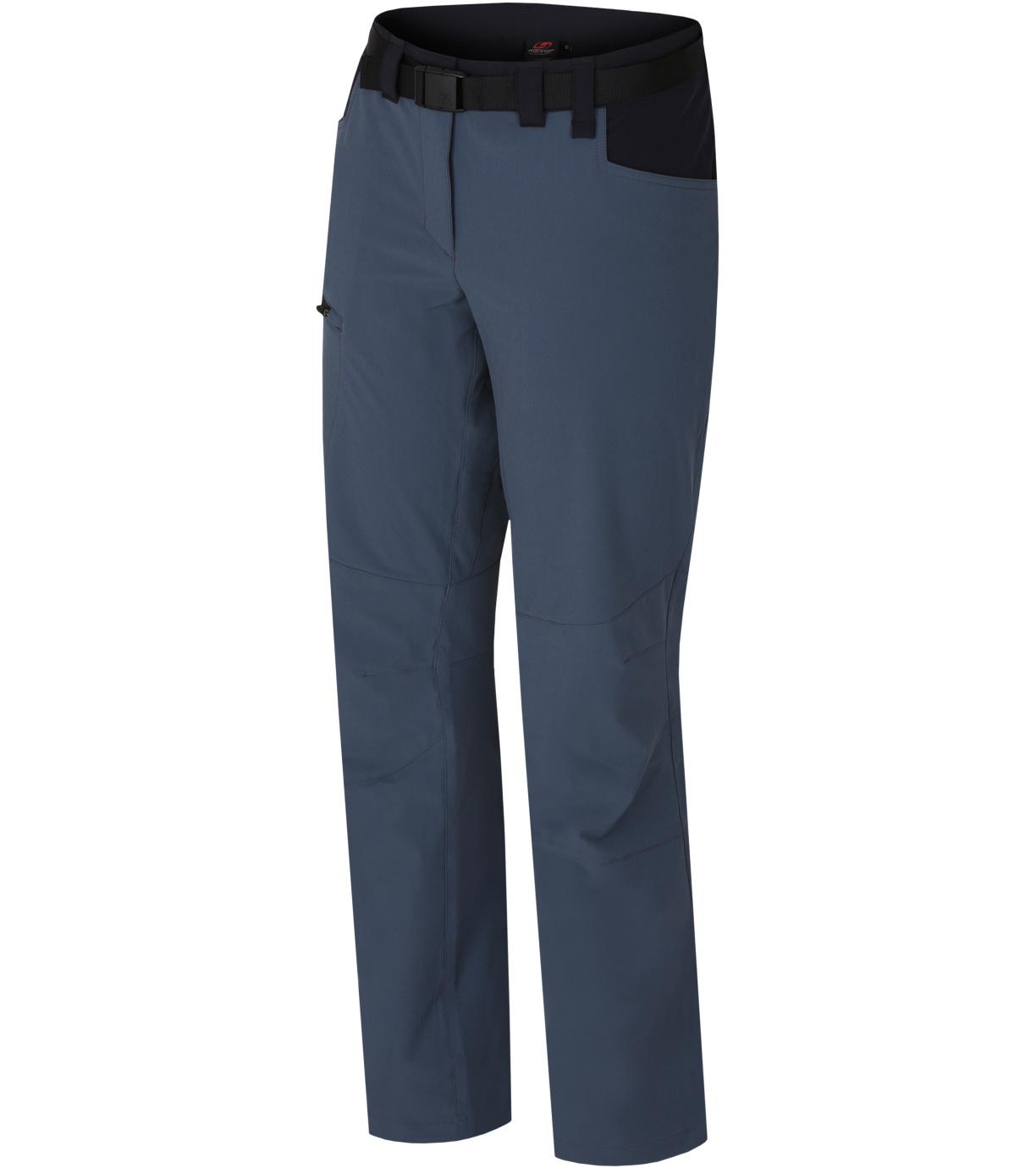 HANNAH MOA Dámské outdoorové kalhoty 10011107HHX01 dark slate/anthracite 36