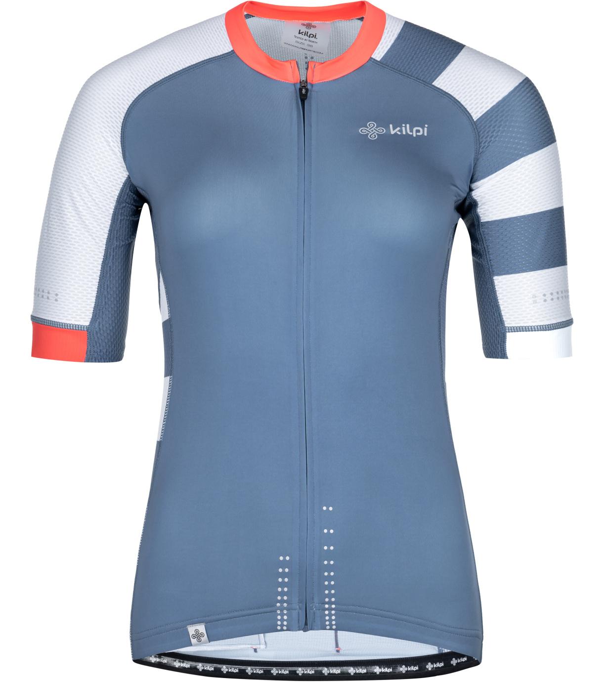 KILPI Dámský cyklistický dres WILD-W PL0044KIBLU Modrá 34