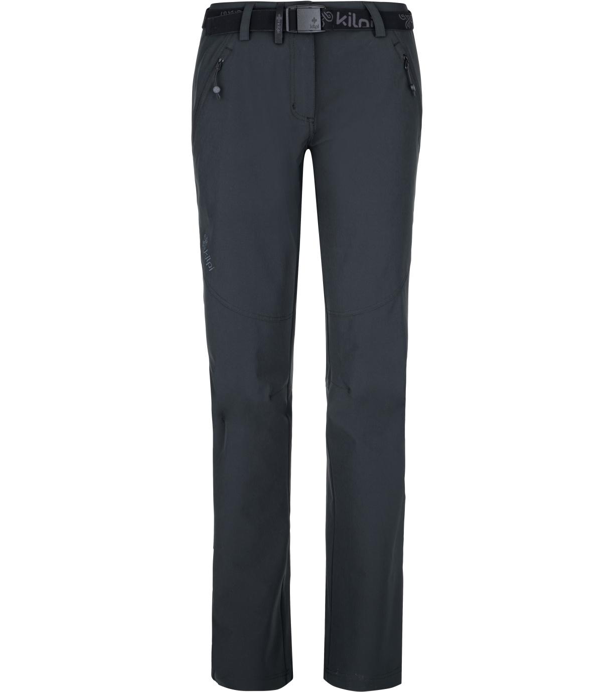 KILPI Dámské outdoorové kalhoty - větší velikosti WANAKA-W PLX027KIBLK Černá 50