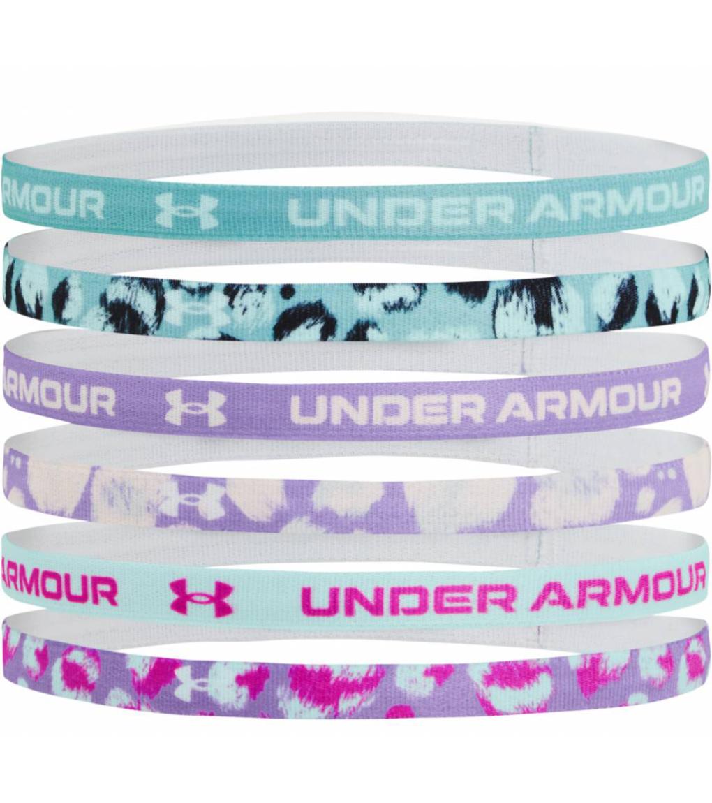 Under Armour Girls Graphic HB Dívčí čelenka do vlasů 6ks 1281857-476 Cosmos OSFA