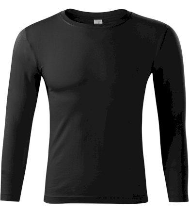 Piccolio Progress LS Unisex tričko P7501 černá XS
