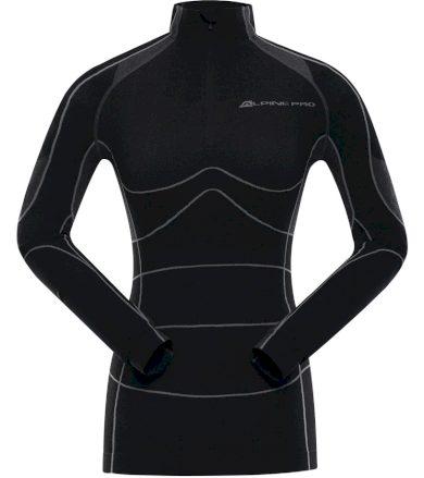 ALPINE PRO PEIROSA 2 Dámské funkční triko LUNK032990 černá XL-XXL