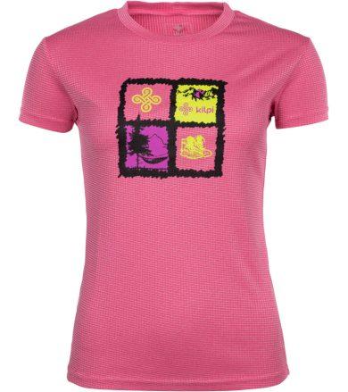 KILPI Dámské funkční tričko GIACINTO-W IL0047KIPNK Růžová 40