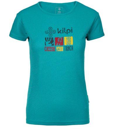 KILPI Dámské funkční triko GIACINTO-W KL0047KITRQ Tyrkysová 34