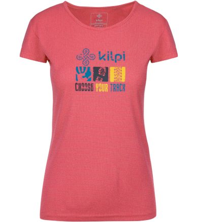 KILPI Dámské funkční triko GIACINTO-W KL0047KIPNK Růžová 36