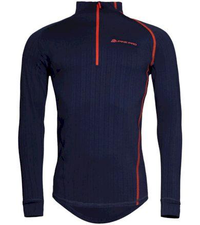 ALPINE PRO PEGASOS 2 Pánské termo triko s dlouhým rukávem MUNP044602 mood indigo XS