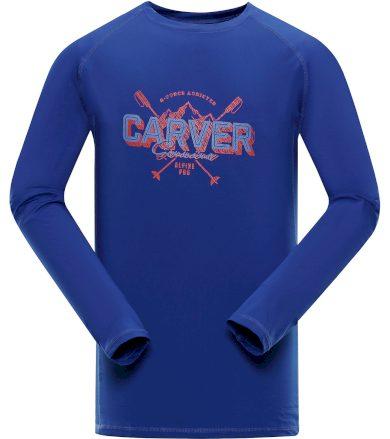 ALPINE PRO TAR Pánské funkční triko s dlouhým rukávem MTSP401682PA nautical blue L