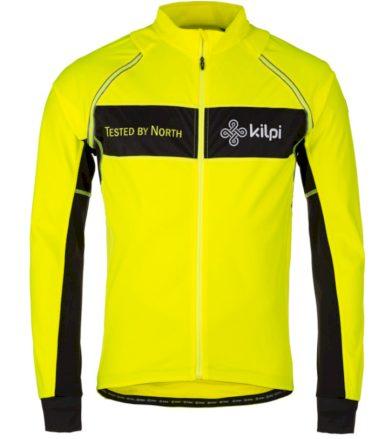 KILPI Pánský cyklo dres ZESTER-M JM0149KIYEL Žlutá S