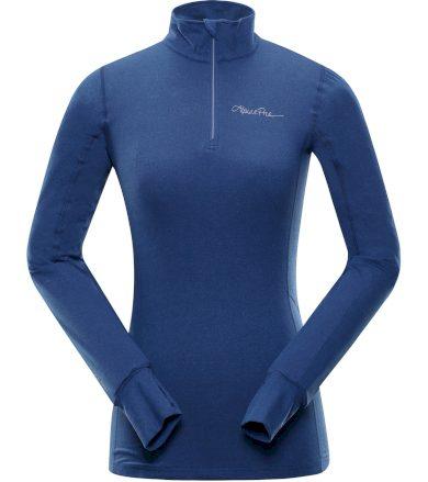 ALPINE PRO NEVEA 5 Dámské funkční triko s dlouhým rukávem LTSP234682PB nautical blue XS