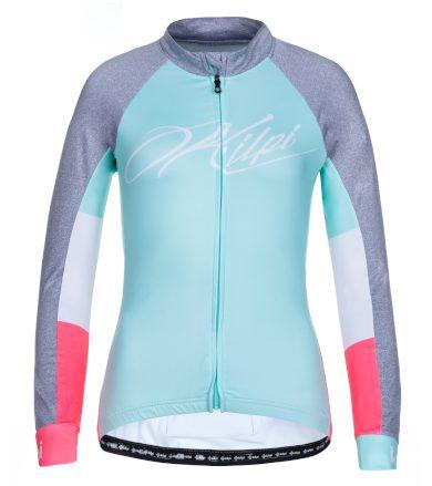 KILPI Dámský cyklistický dres CAMPOS-W LL0057KITRQ Tyrkysová 42