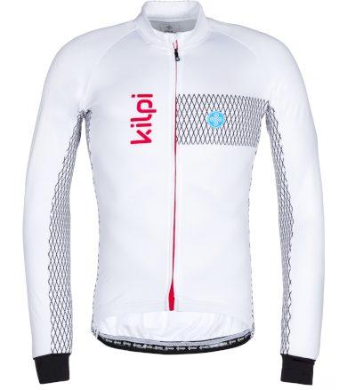 KILPI Pánský cyklistický dres CAMPOS-M LM0059KIWHT Bílá 3XL