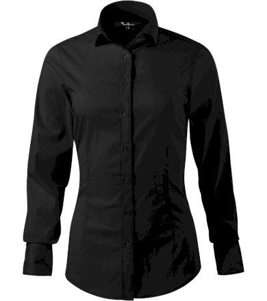 Malfini premium Dynamic Dámská košile s dlouhým rukávem 26301 černá S