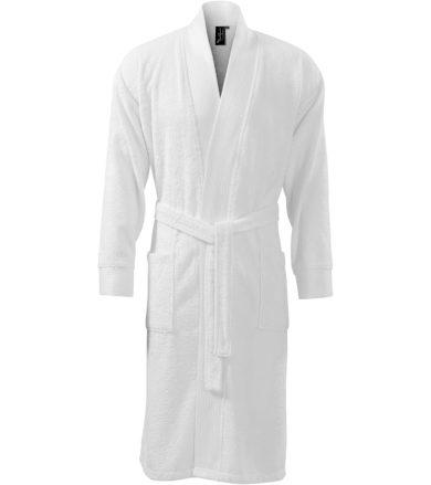 Malfini premium Bamboo bathrobe Župan 95300 bílá S