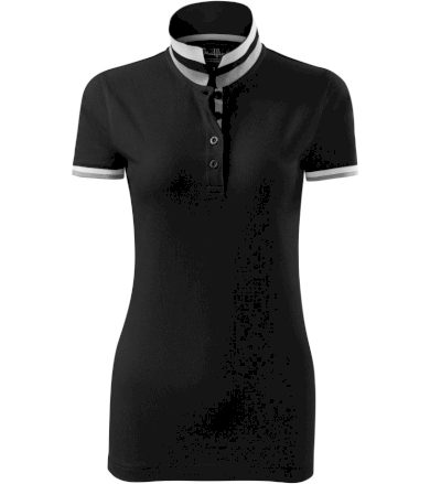 Malfini premium Collar up Dámská polokošile 25701 černá S