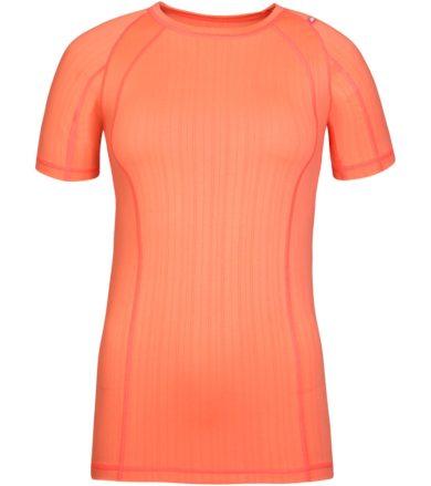 ALPINE PRO UNDERA Dámské funkční triko LUNR050341 Neon coral XS