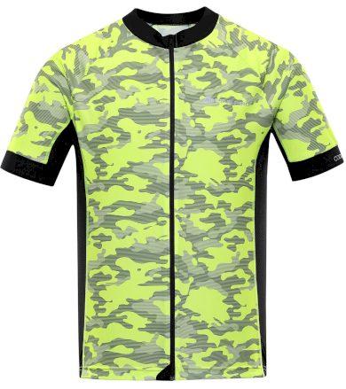 ALPINE PRO MARK Pánský cyklistický dres MTSR461530PA reflexní žlutá S