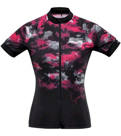ALPINE PRO MARKA Dámský cyklo dres LTSR577452PB růžová L
