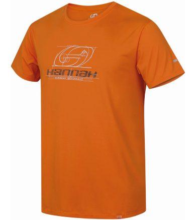HANNAH PARNELL Pánské tričko 10001766HHX01 flame orange M